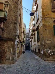 Strada del'Anticaglia vico del Centro Storico di Napoli