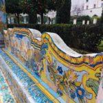 Panchina del Chiostro di Santa Chiara