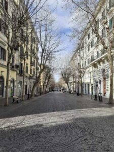 Via Scarlatti al Vomero a Napoli