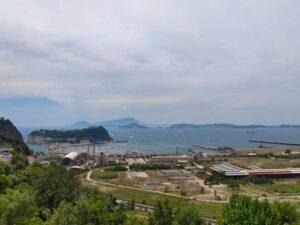 Panorama di Bagnoli visto da Posillipo