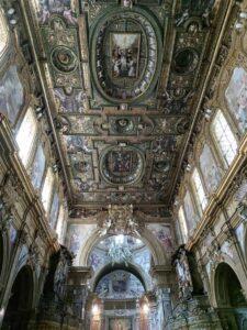 Chiesa di Santa Patrizia dettaglio soffitto