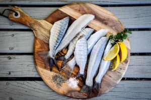 Dieta Prefestiva con pesce fresco