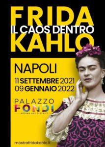 Frida Kahlo a Napoli la mostra il caos dentro