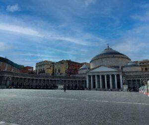 Attraversare Piazza Plebiscito Bendati tra le Piazze più grandi d'italia