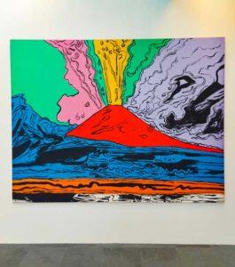 Museo di Capodimonte al Bosco di Capodimonte Vesuvius di Andy Warhol